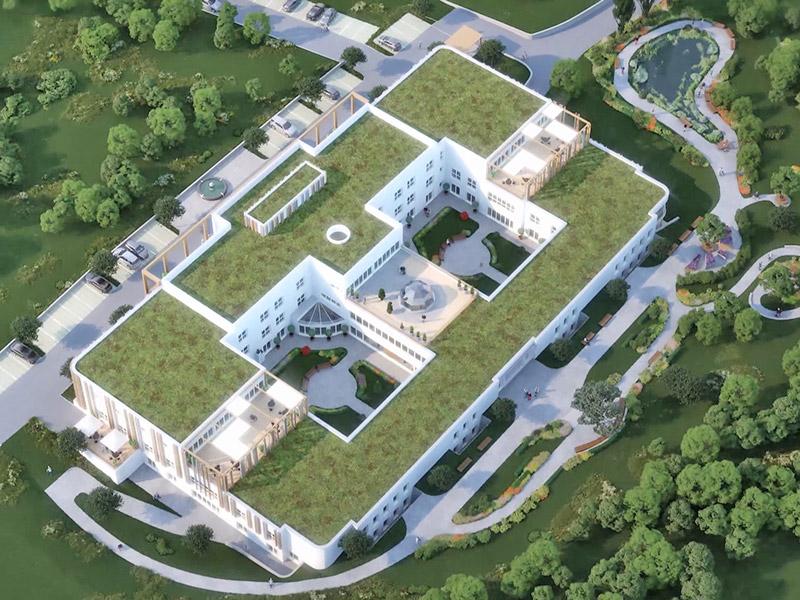 Demenzzentrum Velden Baubeginn