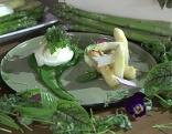 Pochiertes Ei mit Brennessel Spinat