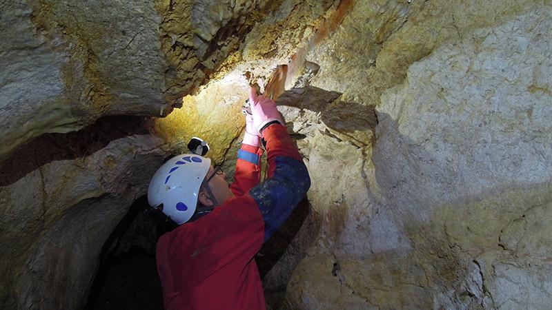 Erdbebenforschung Geologen Obir Tropfsteinhöhle NUR FÜR DIESEN BEITRAG VERWENDEN