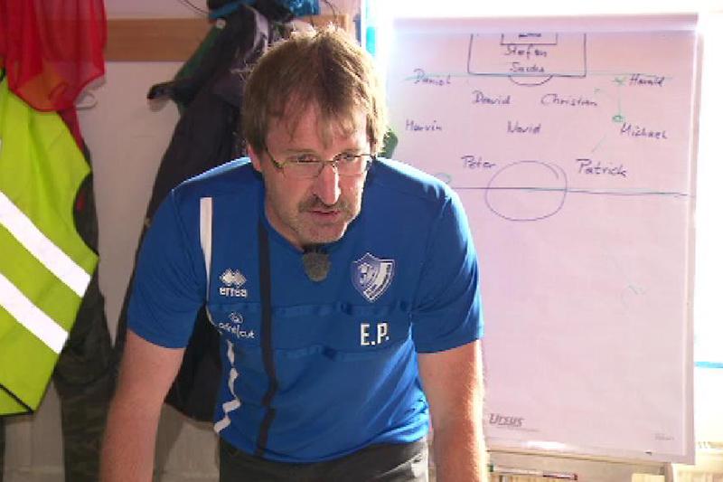 Trainer Peter Ehrenstrasser von Gänserndorf Süd
