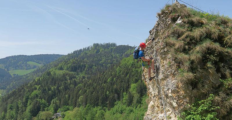 Klettersteig Niederösterreich : Tristkogel klettersteig