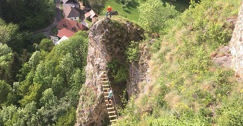 Klettersteig Griffen : Wirbel um schwierigen klettersteig kaernten.orf.at