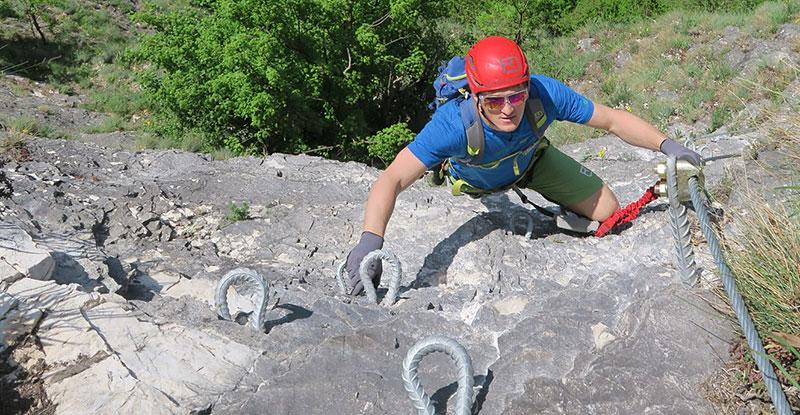 Klettersteig Griffen : Wirbel um schwierigen klettersteig kaernten orf at