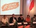 Pressekonferenz der Initiative #sichersein