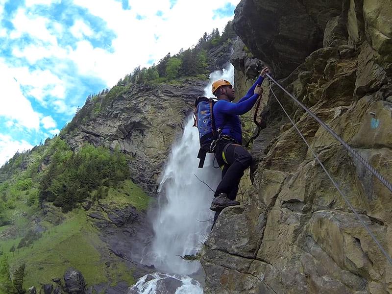 Klettersteig Griffen : Klettersaison hat begonnen kaernten.orf.at