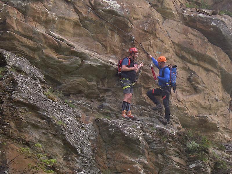 Klettersteig Griffen : Klettersteige hoch hinaus auf luftigen steigen « kleinezeitung at