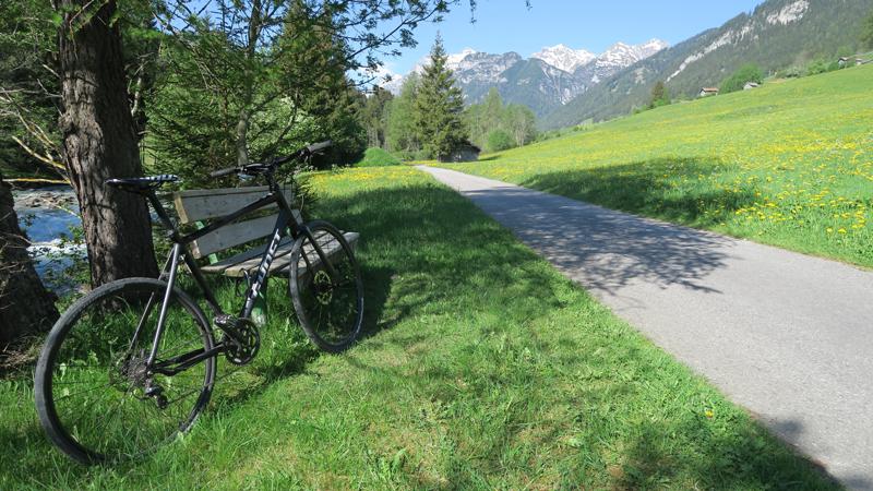 Radtour durch das Gschnitztal