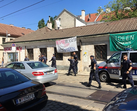 Haus Polizei