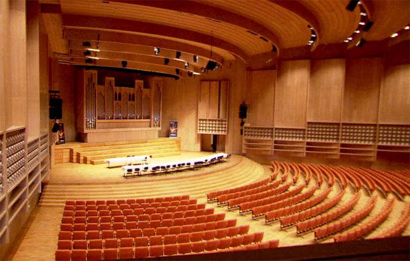 Alte Orgel Brucknerhaus