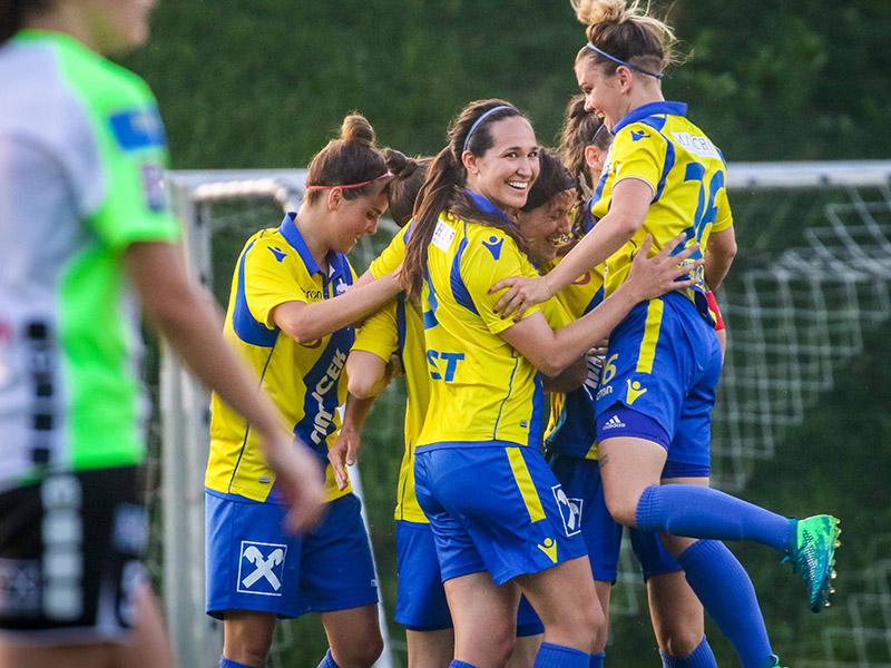 Fußball Damen SKN Sankt Pölten Mai 2018