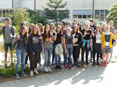 Slavit Erasmus dijaki SG gimnazija Biotehniški center naklo licej ZG naravoslovje