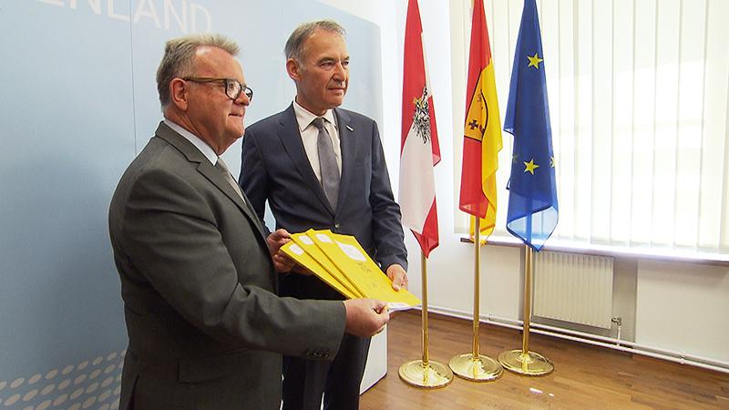 Hans Niessl und Peter Nemeth