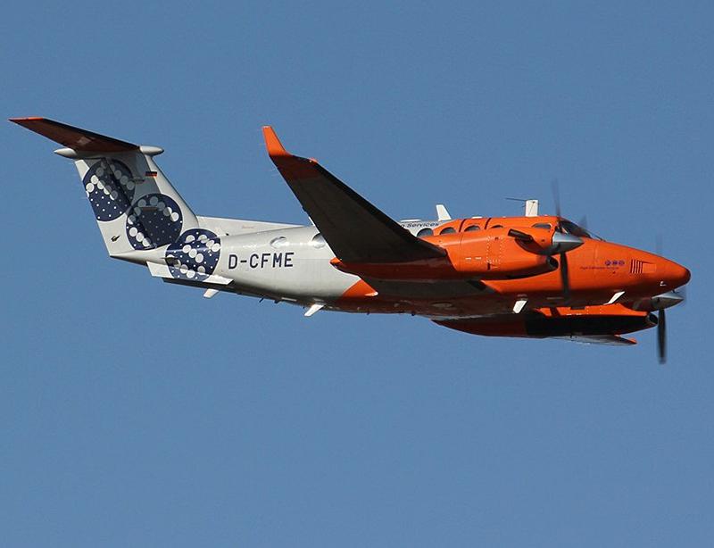 Beechcraft King Air Vermessungsflugzeug