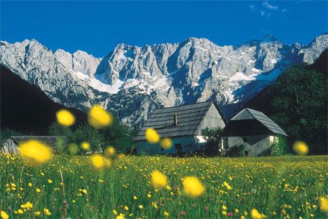 Bergsteigerdorf Jezersko