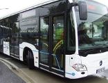 Gelenkbus-Modell Test