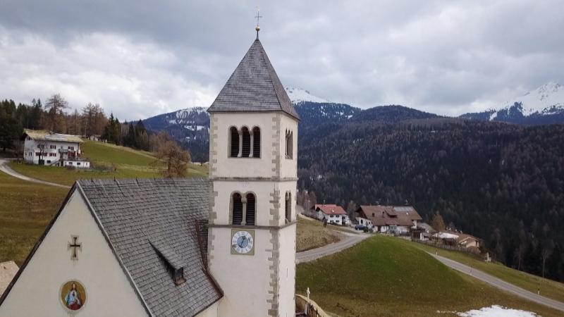 Schindeldach in Südtirol