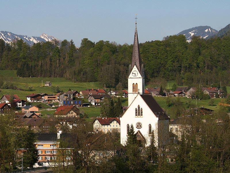 Pfarrkirche Egg
