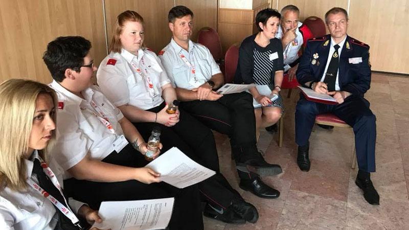 Mladi ognjogasci Klimpuha u Budimpešti