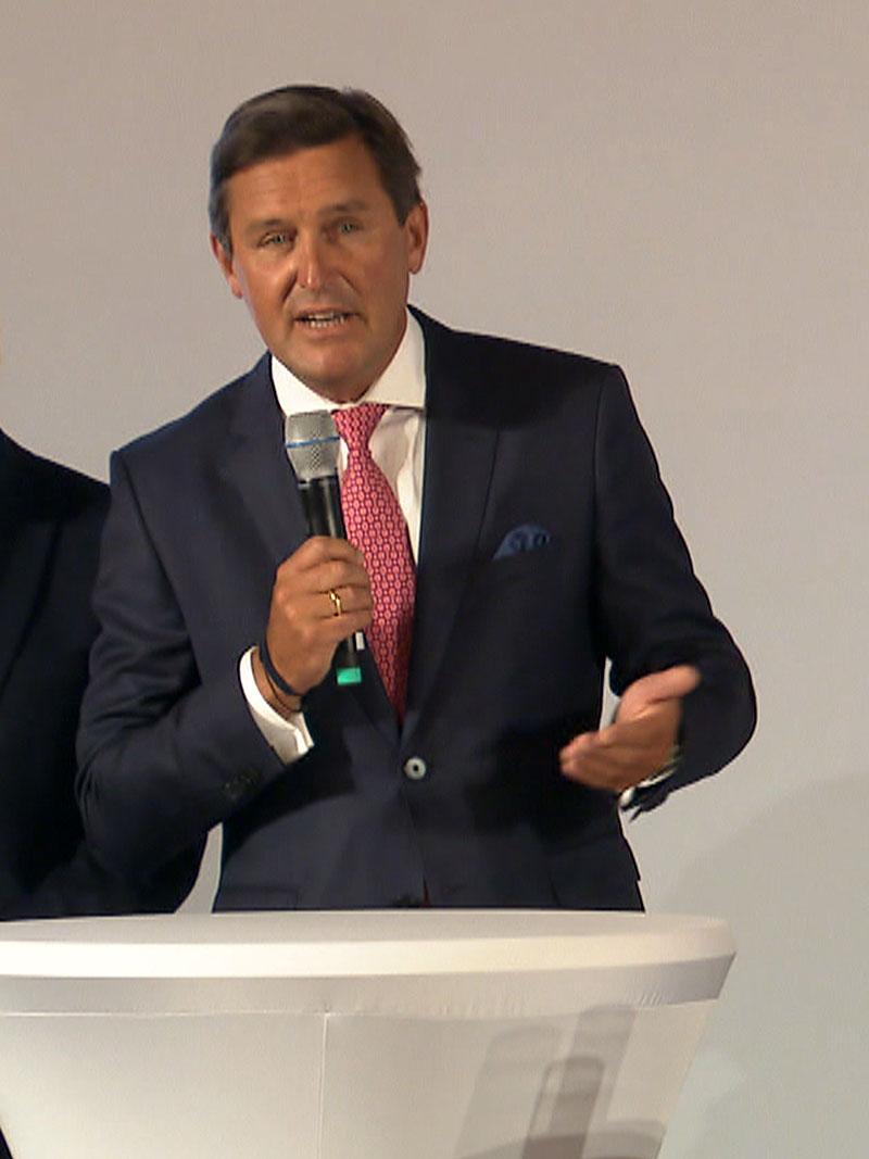 Künftiger Finanzstadtrat und Nachfolger von Renate Brauner ist Peter Hanke.