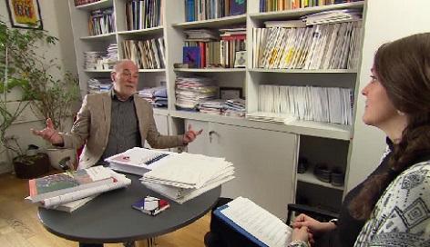 Petr Havlík při interview