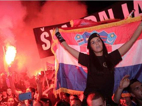 Hrvaška nacionalizem porast Svet Evrope