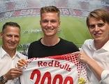 Jasper van der Werff Fußball Red Bull