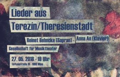 Flyer Lieder aus Theresienstadt