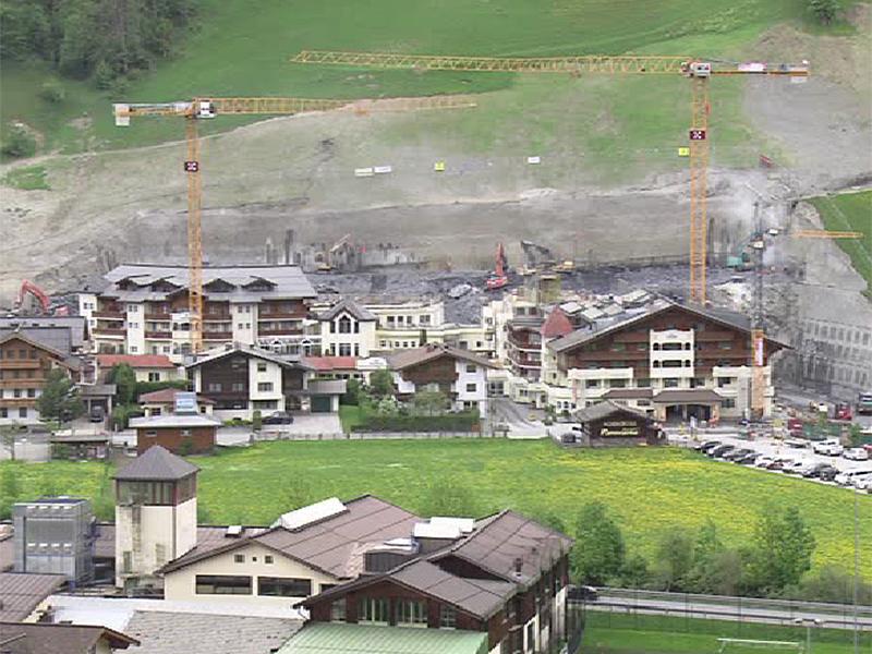 Hotel Baustelle Edelweiss