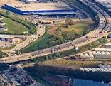 Luftbild der Ostautobahn A4