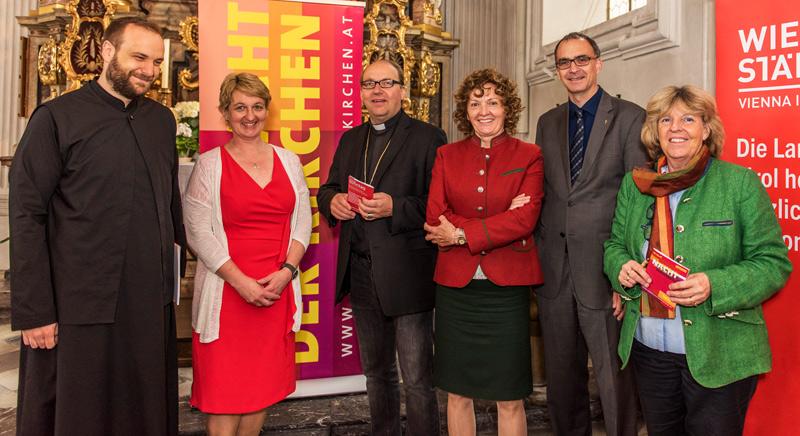 Präsentation der Langen Nacht der Kirchen in der Innsbrucker Spitalskirche