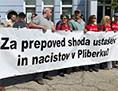 Pliberk iniciativa prepoved Mohar Wutte ZKP Diendorfer libuško Hrvati ustaša ns