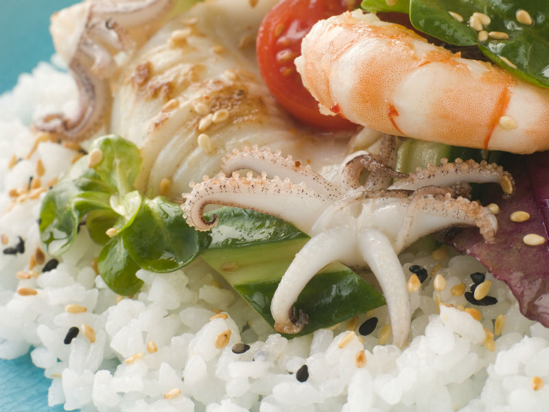 Fischsalat, Poké