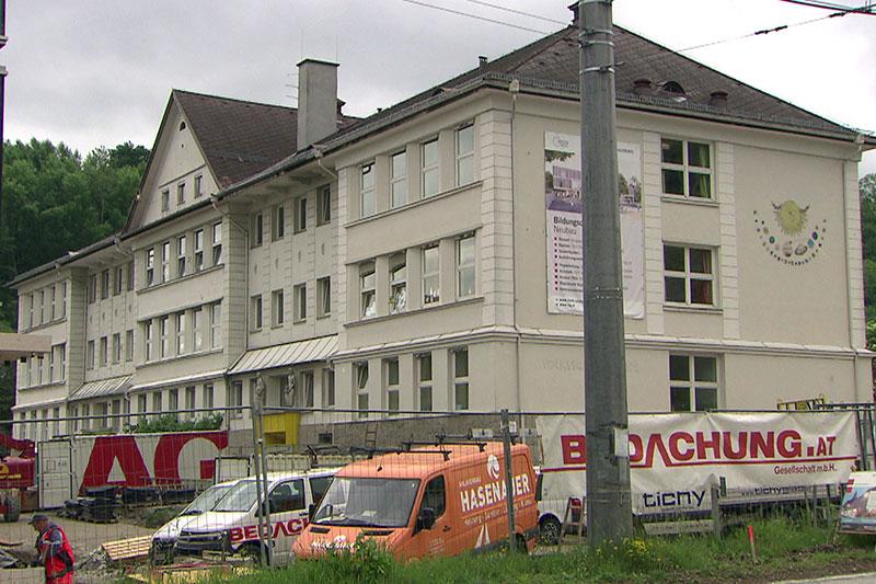 Alte Volksschule in Salzburg Gnigl