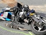 Motorradunfall bei Fieberbrunn