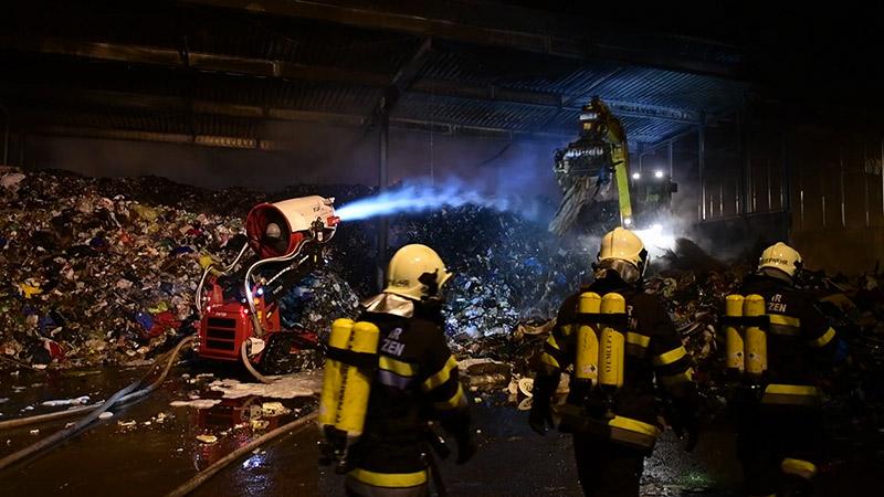 Brand Müll Tainach Völkermarkt