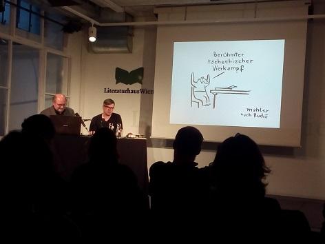 Jaroslav Rudiš Literaturhaus Wien 2018