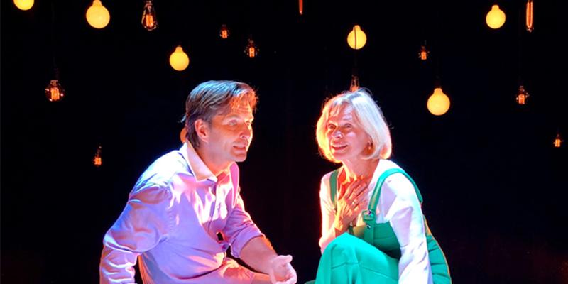 """Rosie Belic & Nikolaus Lechthaler in  dem Stück """"Konstellationen"""""""
