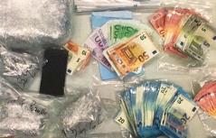 Bild Bargeld und Drogen