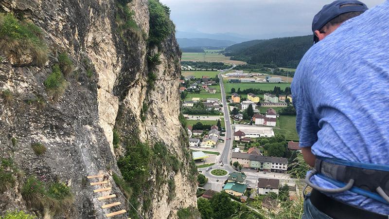 Klettersteig Fallbach : Viele überschätzen sich auf klettersteigen kaernten.orf.at