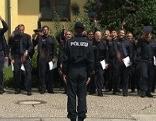Polizei Grundlehrgang keine Nachwuchssorgen