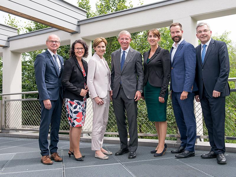 Regierungsmannschaft ÖVP Wilfried Haslauer II