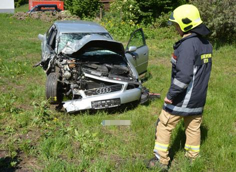 Verkehrsunfall Itter