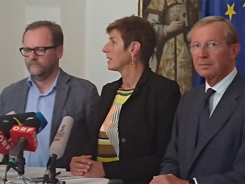 Präsentation des Koalitionspaktes