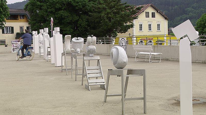 Kunstradeln am Milstättersee