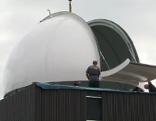 Erste neue Kuppel für Sternwarte Hausnberg