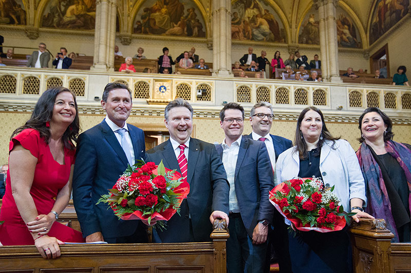 Neues Stadtratsteam