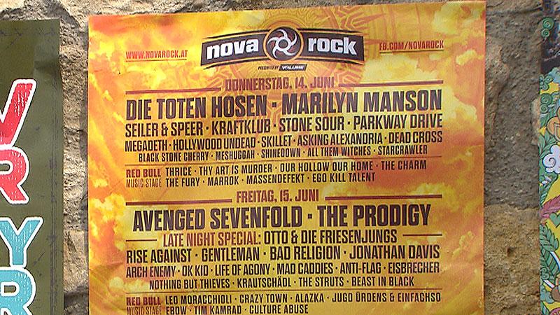 Nova Rock-Poster