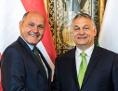 Wolfgang Sobotka és Orbán Viktor
