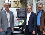 Christian Haring, Karl Heinz Alber und Norbert Erlacher