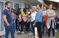 školari iz Rijeke u Željeznu